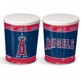 Load image into Gallery viewer, Los Angeles Angles 3 gallon popcorn tin
