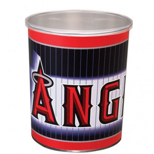 Los Angeles Angels 1 gallon popcorn tin