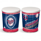 Load image into Gallery viewer, Minnesota Twins 3 gallon popcorn tin