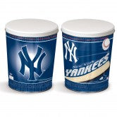 Load image into Gallery viewer, New York Yankees 3 gallon popcorn tin