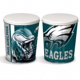Philadelphia Eagles 3 gallon popcorn tin