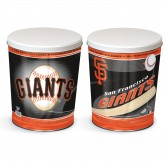 Load image into Gallery viewer, San Francisco Giants 3 gallon popcorn tin