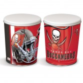 Tampa Bay Buccaneers 3 gallon popcorn tin