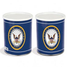 Load image into Gallery viewer, US Navy 1 Gallon Popcorn Tin