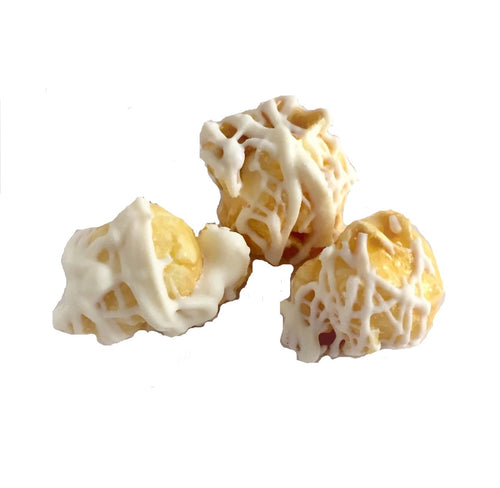 Popsations White Chocolate Caramel Drizzle gourmet popcorn