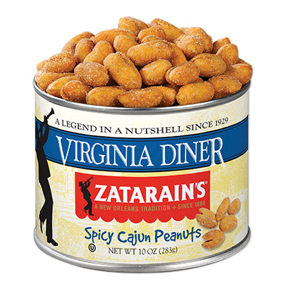 Virginia Diner Zatarains Spicy Cajun Peanuts