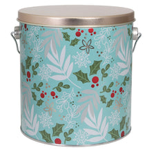 Load image into Gallery viewer, Winter Holly Popcorn Tin