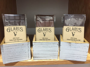 Glarus Clocolate Bars