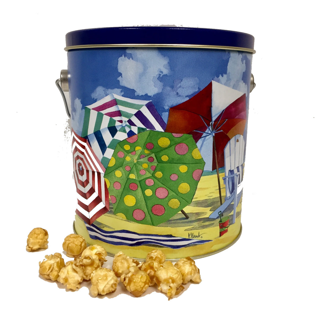 Popsations Popcorn Beach Tin