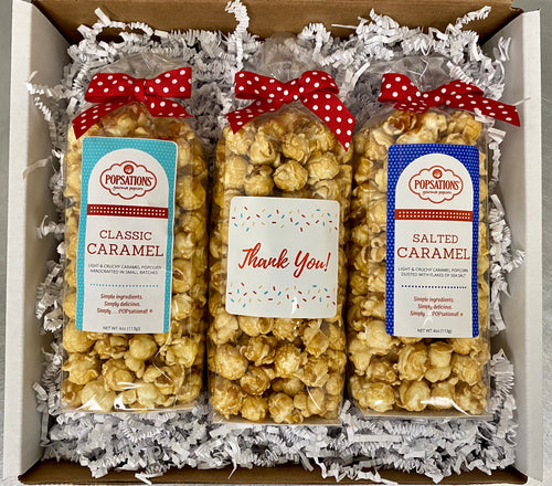 Thank You Gourmet Popcorn Gift Box