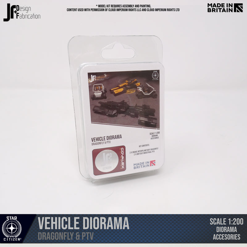 Ground Vehicle Diorama Kit (1:200)