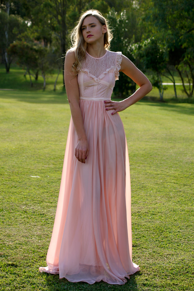 Elie Blush Pink Cocktail Dress