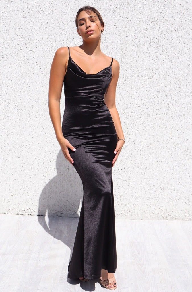 Hollywood Formal Gown - Black
