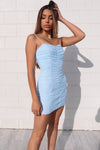 Aria Baby Blue Dress