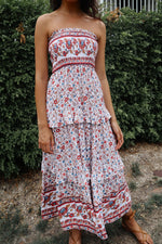 Arizona Strapless Maxi Dress - Runway Goddess