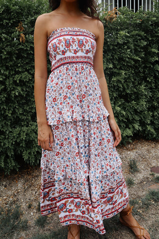 Arizona Strapless Maxi Dress