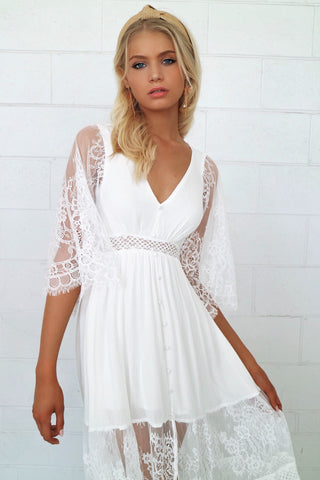 Aurora Lace Maxi Dress