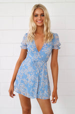 Becky Floral Wrap Dress - Runway Goddess