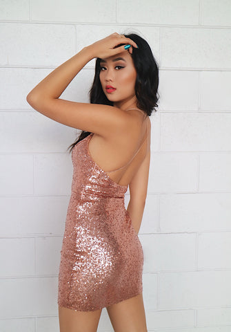 Birthday Dress - Rose Gold
