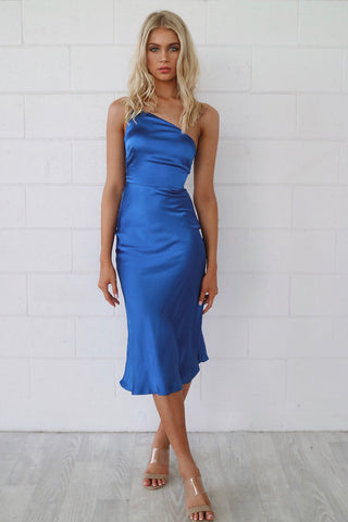 Chloe Blue Midi Dress