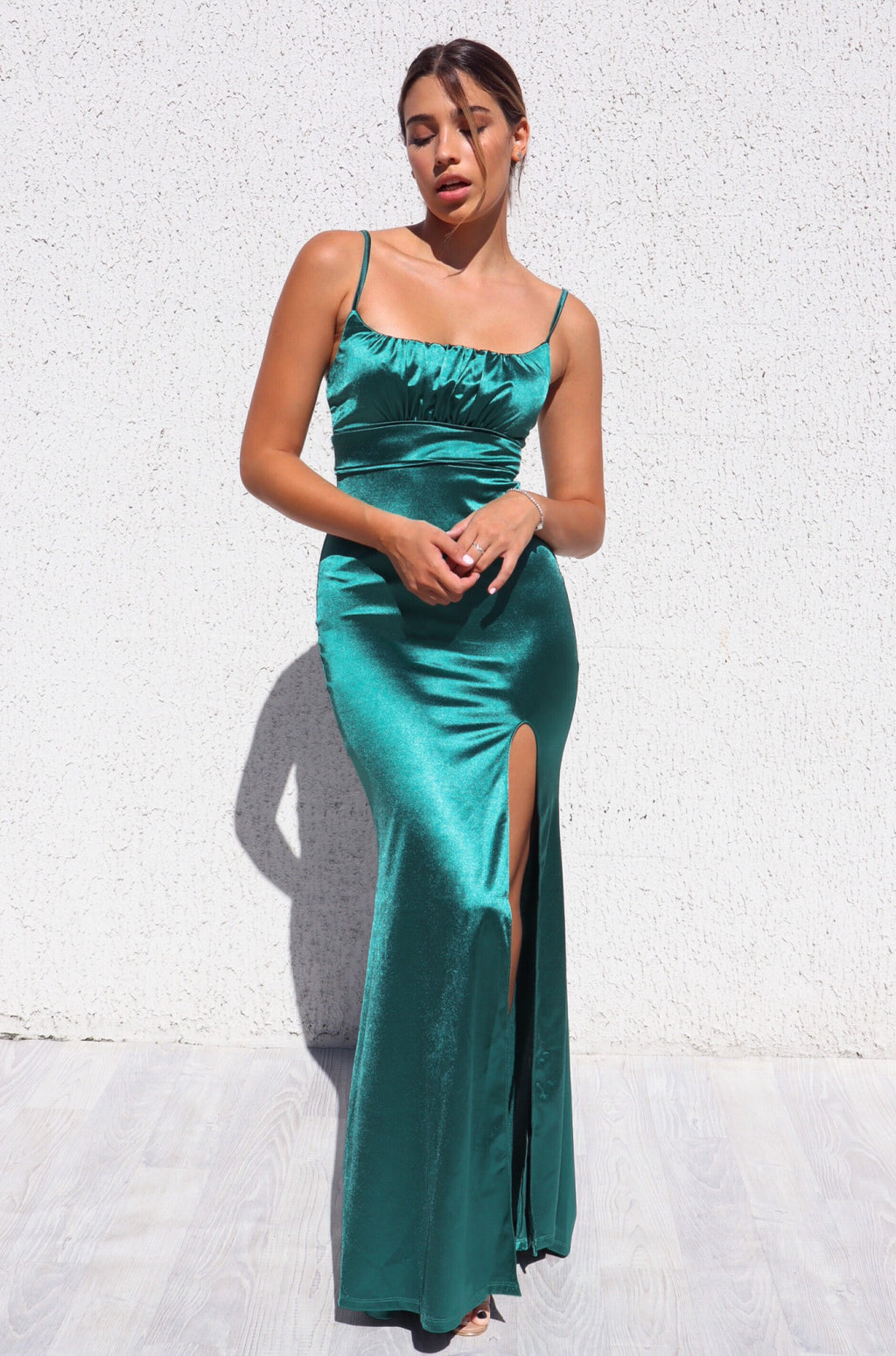 Clementine Formal Gown - Green