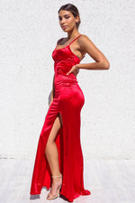 Clementine Formal Gown - Red