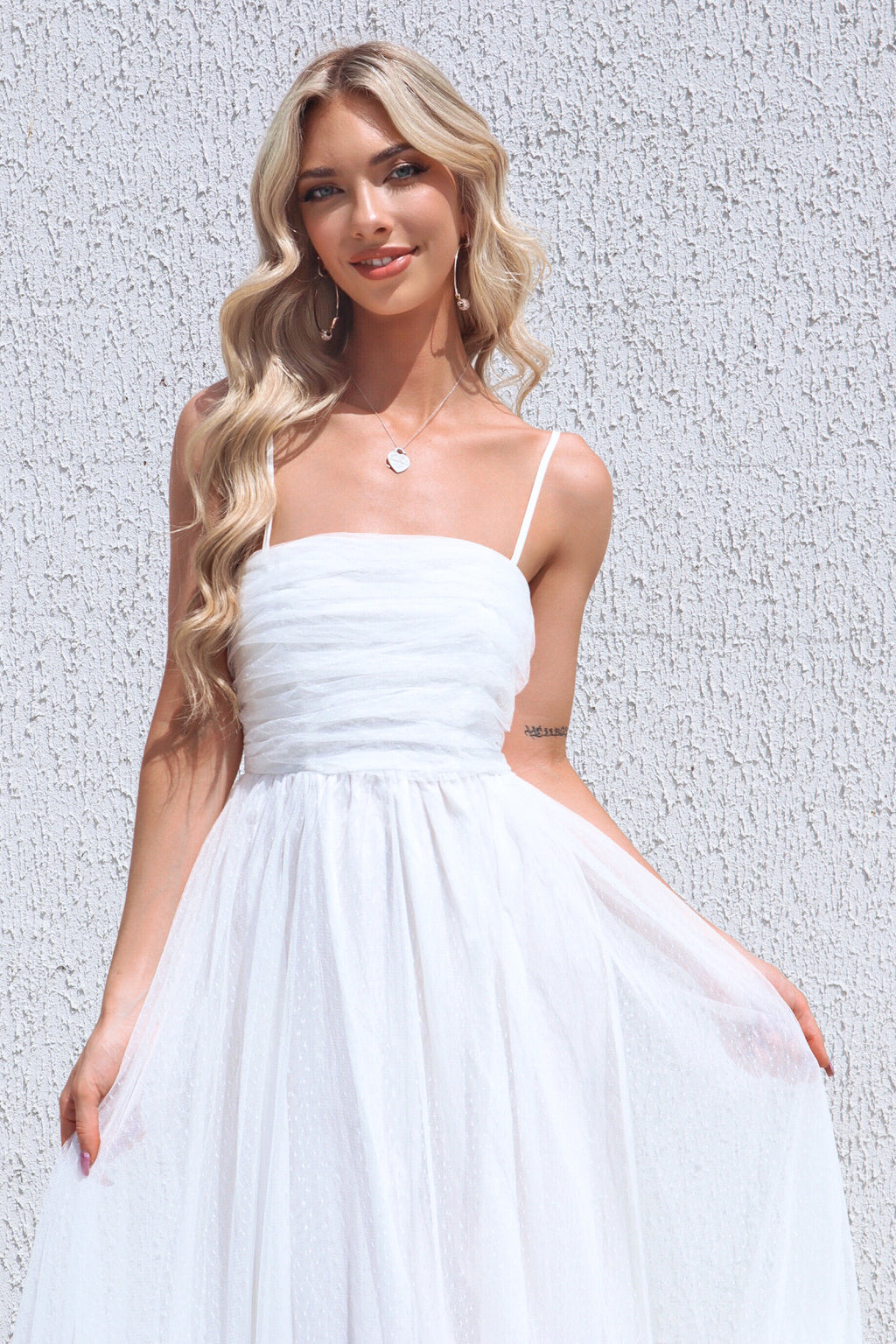 Cleo Tulle Maxi Dress