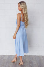 Cloud Nine Dress - Baby Blue