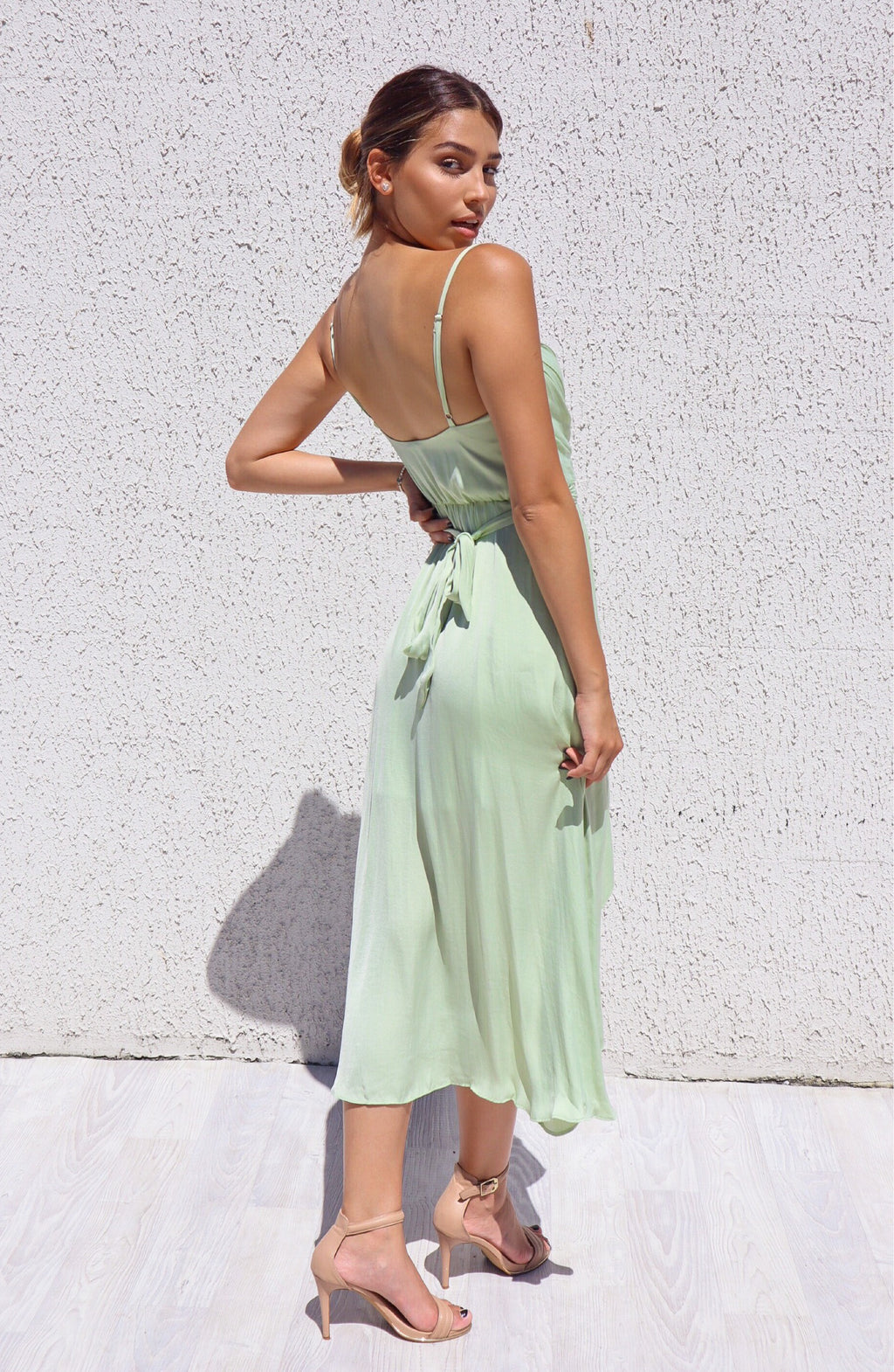 Cloud Nine Dress - Pistachio