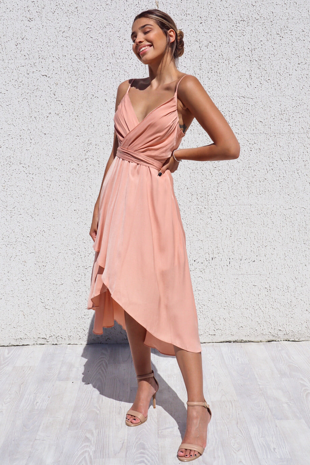 Cloud Nine Dress - Rust