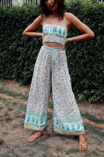 Cuba Floral Set Pants - Runway Goddess