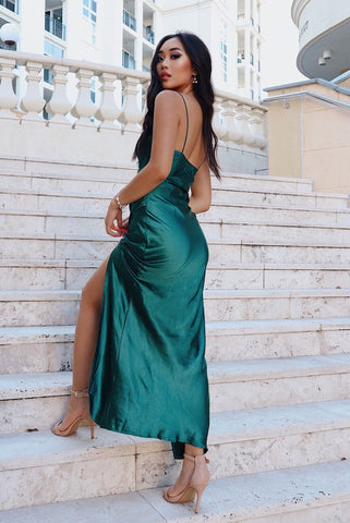 Eclipse Formal Gown - Emerald