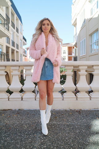 Fairy Floss Pink Coat