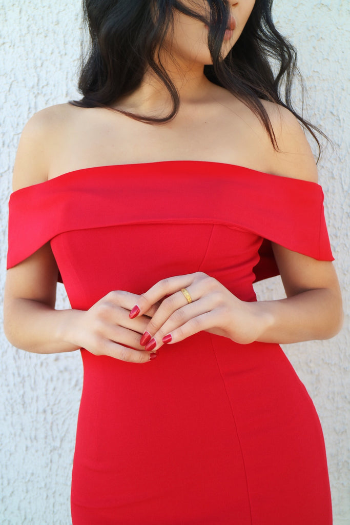 Femme Fatale Red Dress