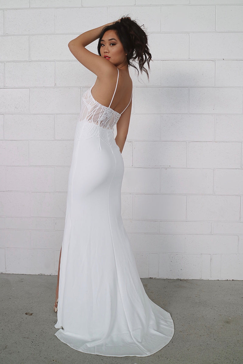 First Love Gown - White - Runway Goddess