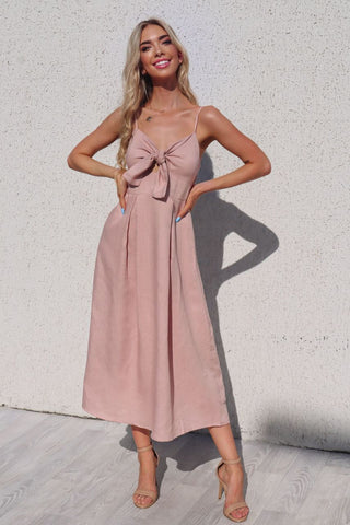 Grace Blush Maxi Dress