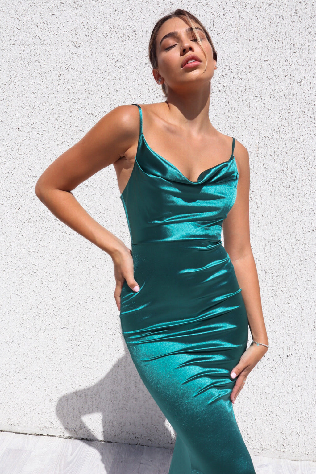 Hollywood Formal Gown - Green
