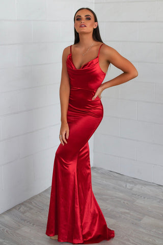 Hollywood Red Formal Dress