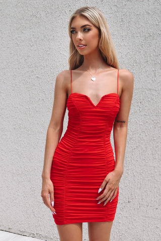 Jolie Dress - Red