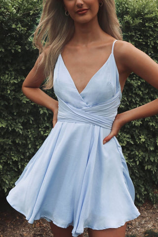 Lelani Blue Dress