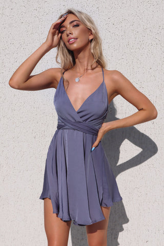 Lelani Midnight Blue Dress