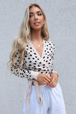Dotti  Wrap Cropped Top - Runway Goddess