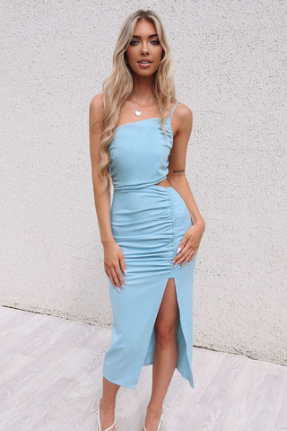 Lhana Baby Blue Bodycon