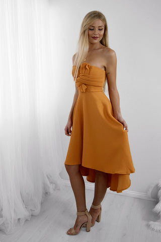 Mango Tango Cocktail Dress