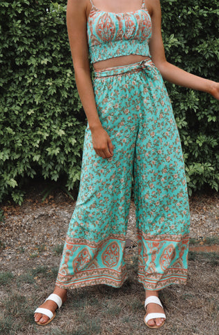 Mint Faye Pants Set