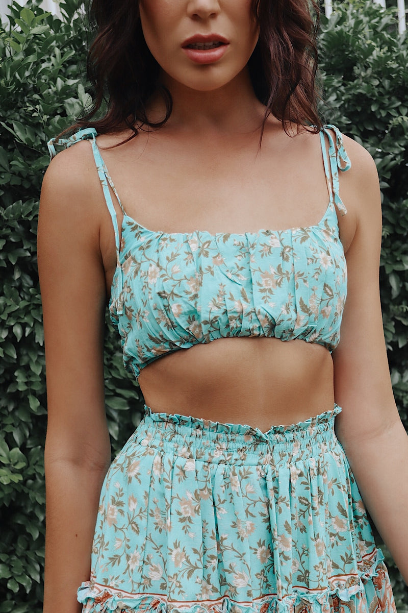 Mint Faye Set Top - Runway Goddess