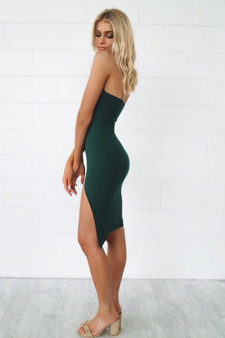 Muse Emerald Bodycon Dress