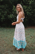 Oasis Floral Maxi Dress - Runway Goddess