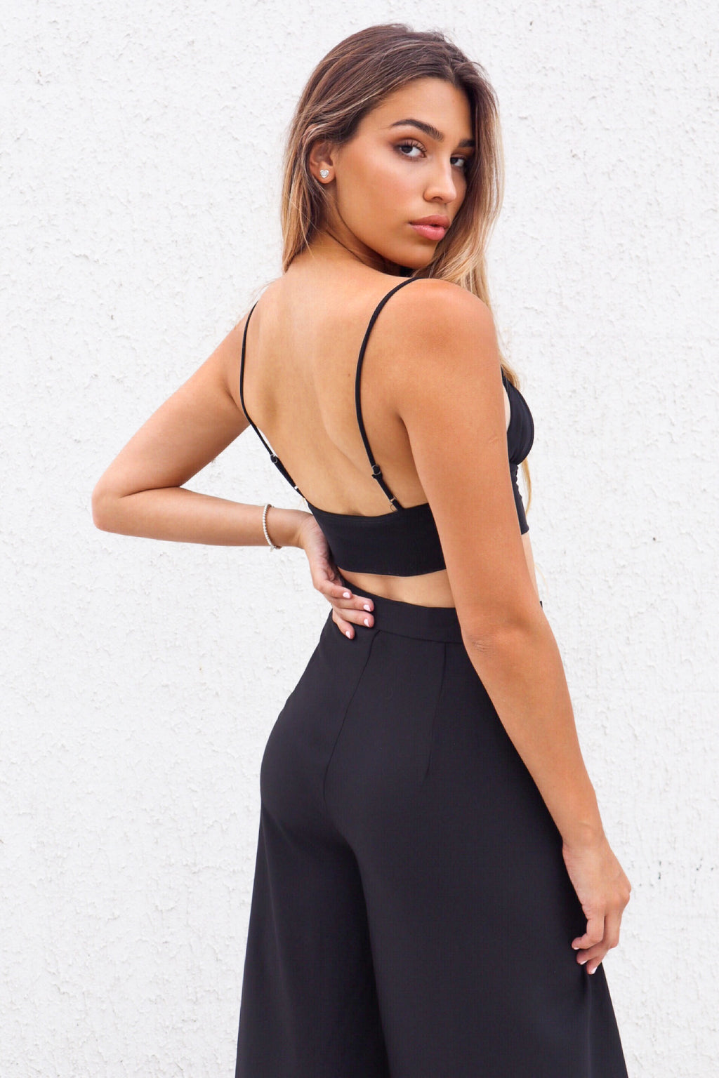 Alae Crop Top - Black