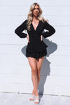 London Playsuit - Black